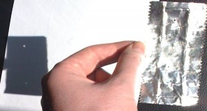 SoFi mit Kaugummipapier