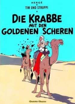 Die Krabbe mit den goldenen Scheren - Herge Carlsen