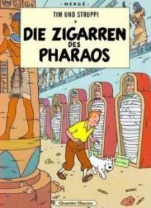 Die Zigarren des Pharaos - Herge Moulinsart - Carlsen Verlag
