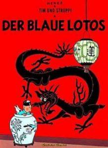 Der blaue Lotos - Herge Carlsen