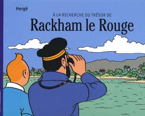 A la recherche du tresor de rackham le rouge - Hergé