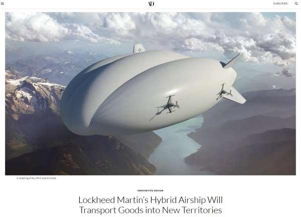 Lockhead Martin Hybrid Airship