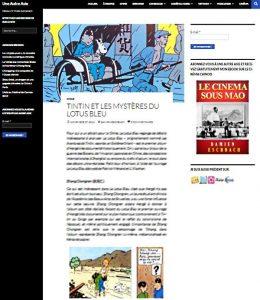 Tintin et leas mysteres du lotus bleu